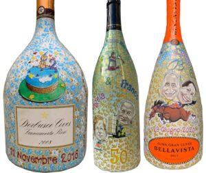 Bottiglie per Anniversario